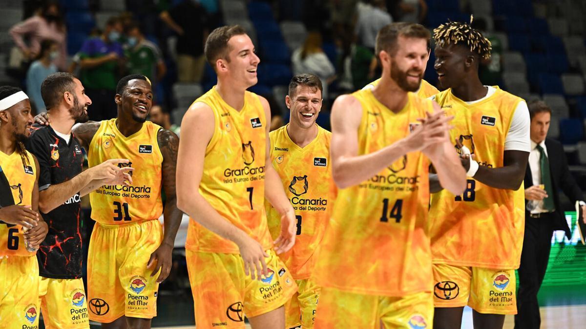 El Gran Canaria conquista el Martín Carpena