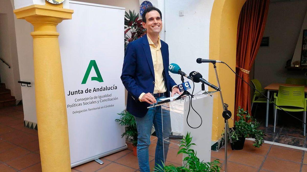 El delegado de Igualdad, Políticas Sociales y Conciliación de la Junta de Andalucía en Córdoba, Antonio López.