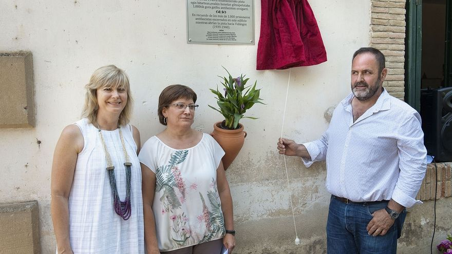 """Ana Ollo anima a las generaciones más jóvenes a construir """"una sociedad más justa y democrática"""""""