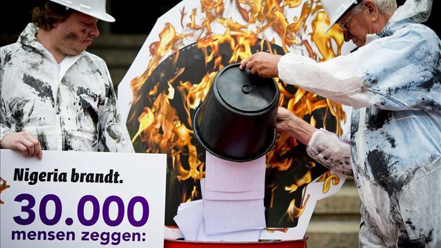 La justicia holandesa condena parcialmente a Shell por vertidos en Nigeria