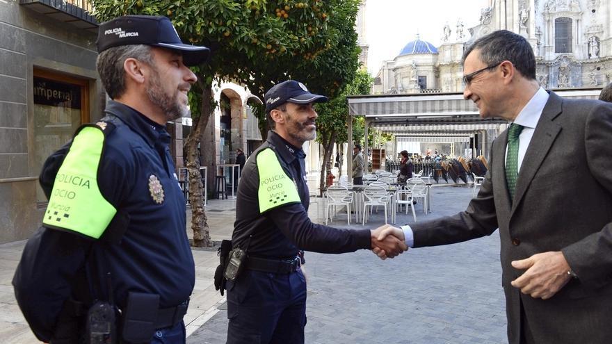 La 'Policía del Ocio' se prepara para actuar estas navidades en Murcia