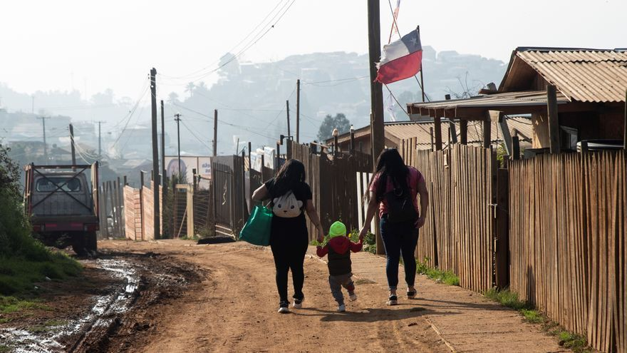 Las villas miseria de Chile explotan por la pandemia y la crisis habitacional