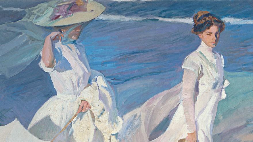 'Paseo a la orilla del mar', de Joaquín Sorolla