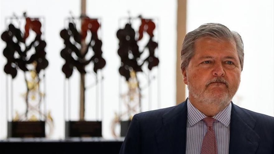 El ministro de Educación en funciones, Íñigo Méndez de Vigo.