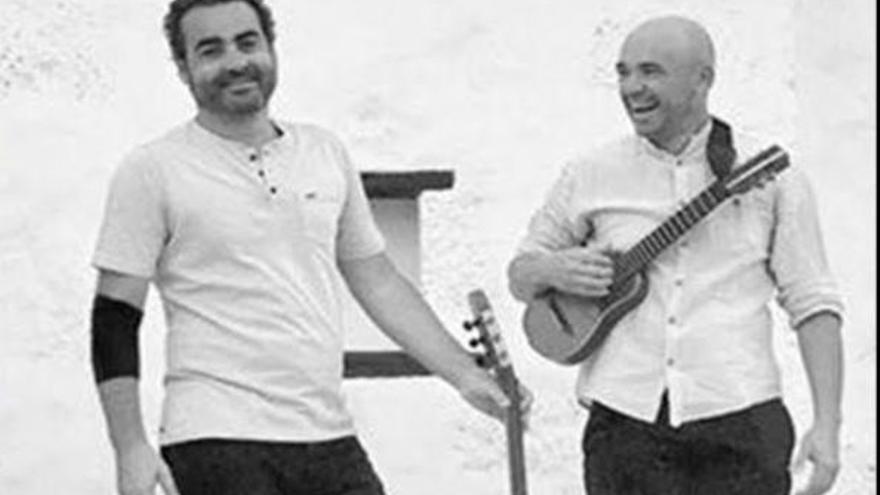 Concierto de jazz de Javier Infante y Alexis Lemes en Las Salinas de Los Cancajos