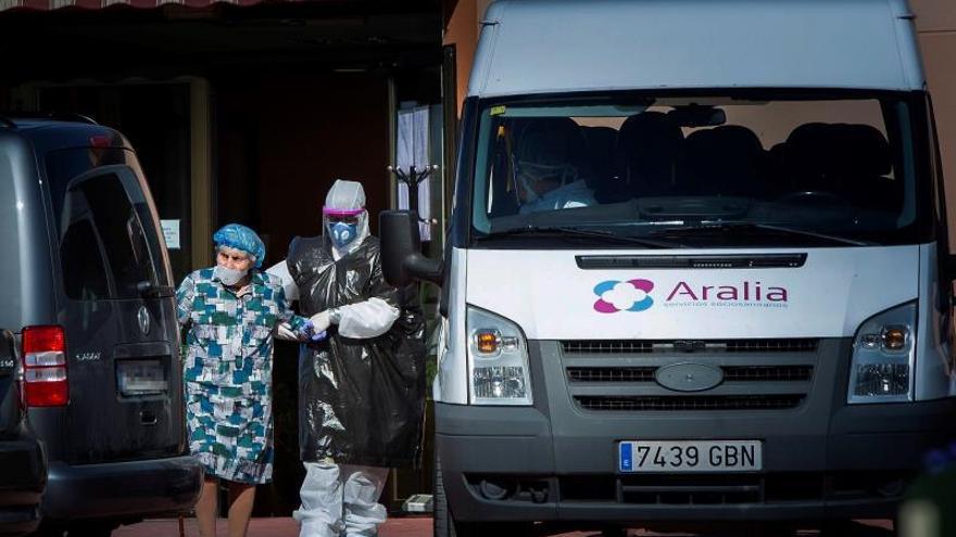 Residencia de Burgos intervenida traslada a ancianos por falta de personal