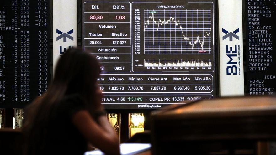 La Bolsa española abre con ganancias y el IBEX sube el 0,46 por ciento