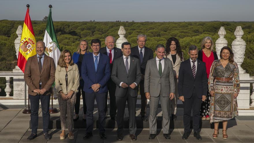 Moreno garantiza compromiso de Junta con protección y preservación de Doñana y plantea su inclusión en el Estatuto