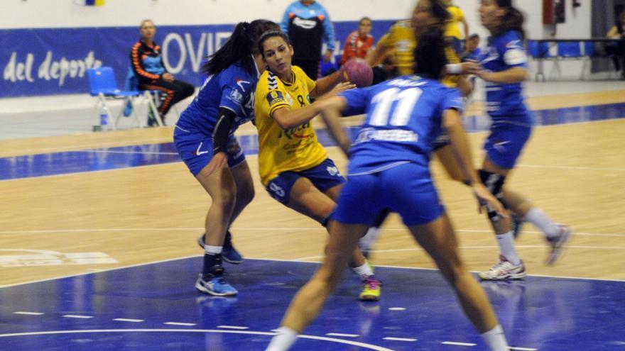 La jugadora del Rocasa Gran Canaria, Carmen Toscano.