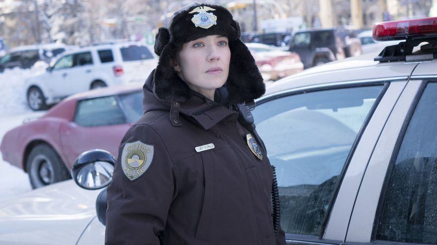 Carrie Coon en la tercera temporada de 'Fargo'