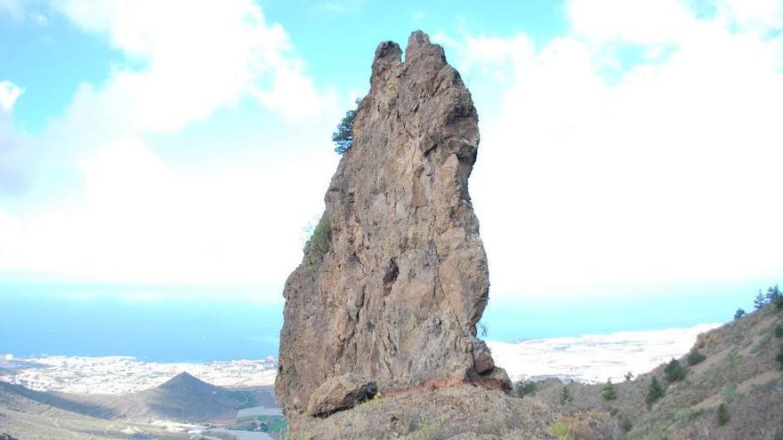 La Cresta, en Ifonche (Playa de Las Américas al fondo).