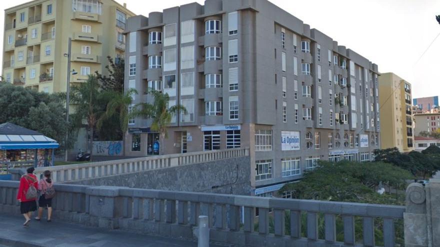 Sede de La Opinión de Tenerife, en Santa Cruz de Tenerife