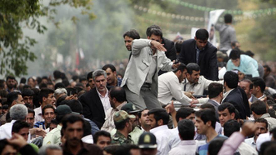 Ataque contra Ahmadineyad