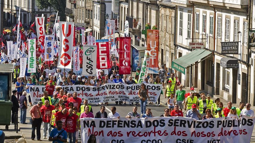 Millar y medio de personas clama por la defensa de los servicios públicos
