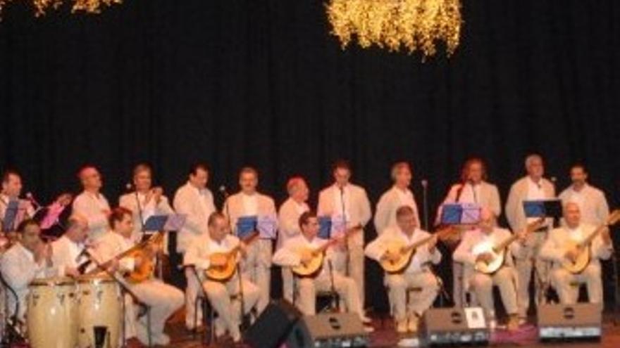 Los Faycanes, durante una actuación. (CANARIAS AHORA)