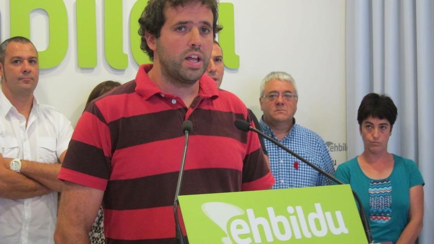 Aritz Ayesa, candidato de EH Bildu a la presidencia de la Mancomunidad de la Comarca de Pamplona