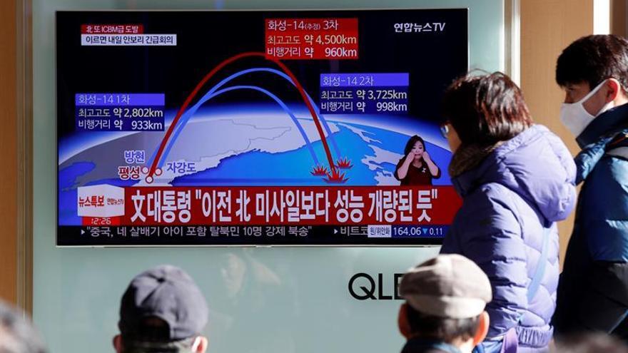 Países de la UE en el Consejo de Seguridad de la ONU condenan las pruebas de misiles de Pyongyang
