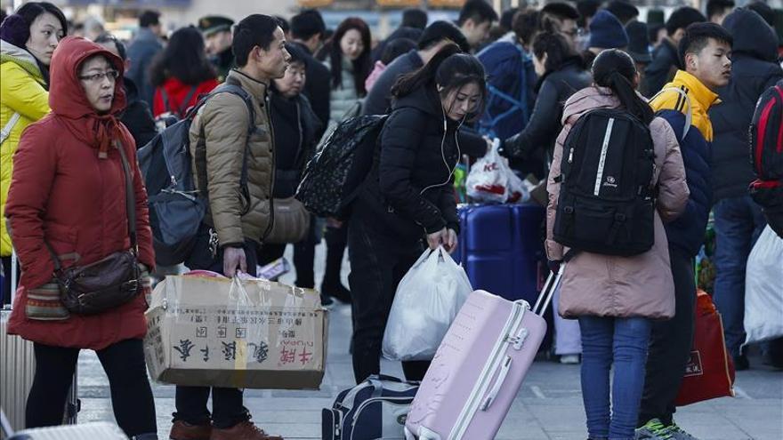 La diáspora china vuelve a casa por Año Nuevo