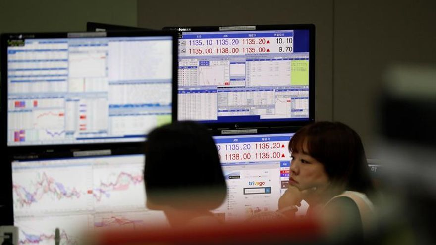 La Bolsa de Seúl abre con una subida del 1,14 % hasta los 2.346,19 puntos