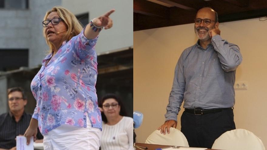 Meri Pita y Juan Manuel Brito