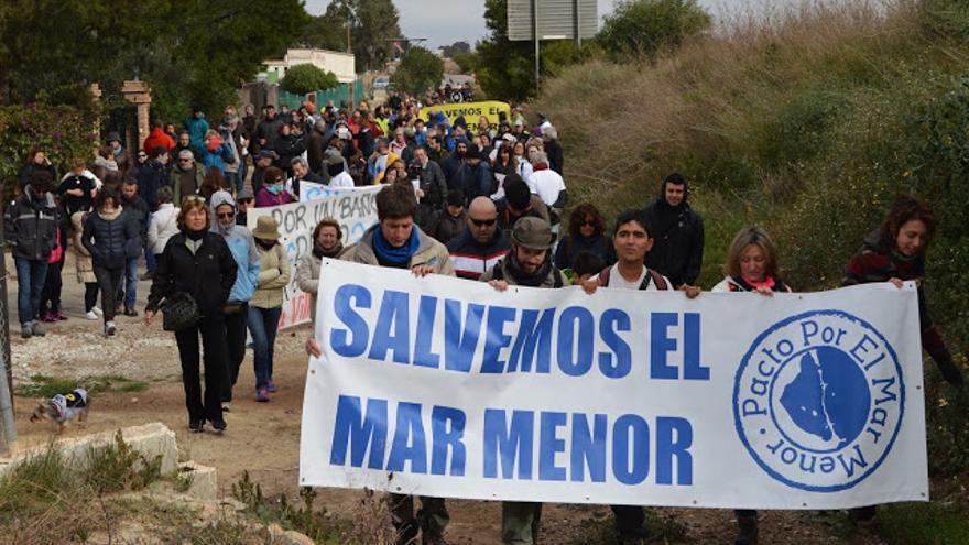 Marcha por la protección del Mar Menor