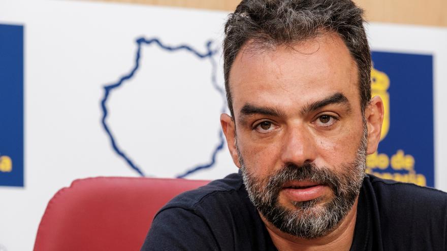 El jefe de Emergencias del Cabildo de Gran Canaria, Federico Grillo.