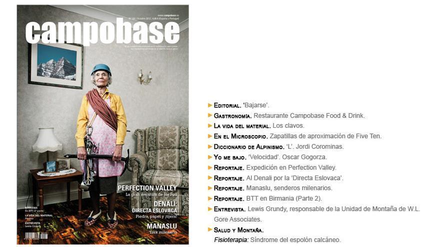 Campobase Nro. 103. Octubre 2012