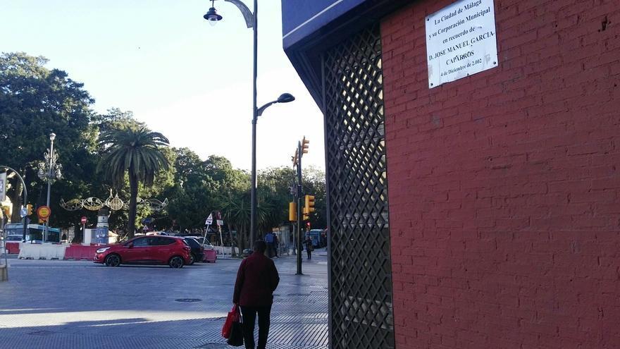 El BOJA publica el acuerdo para que la esquina donde murió García Caparrós sea Lugar de Memoria