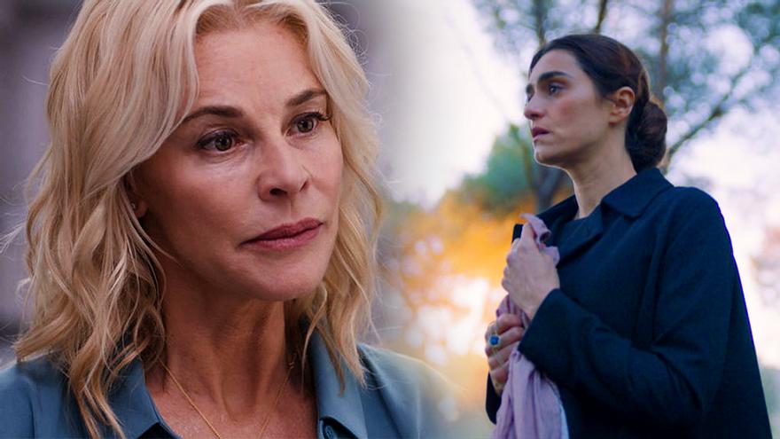 Belén Rueda en 'Madres' / Olivia Molina en 'La Valla'