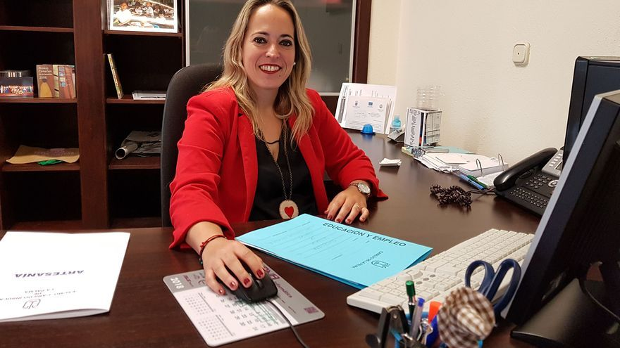 La consejera Susana Machín.