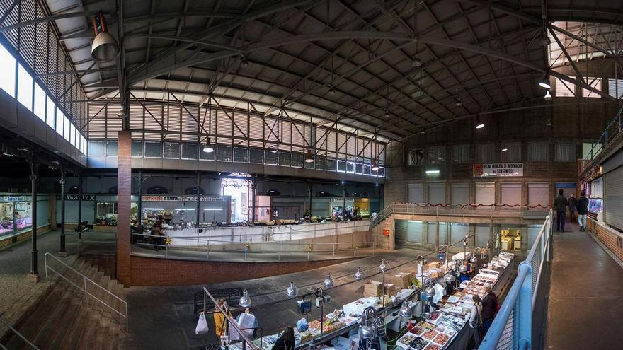 Mercado Calatrava Mérida navidades 2017