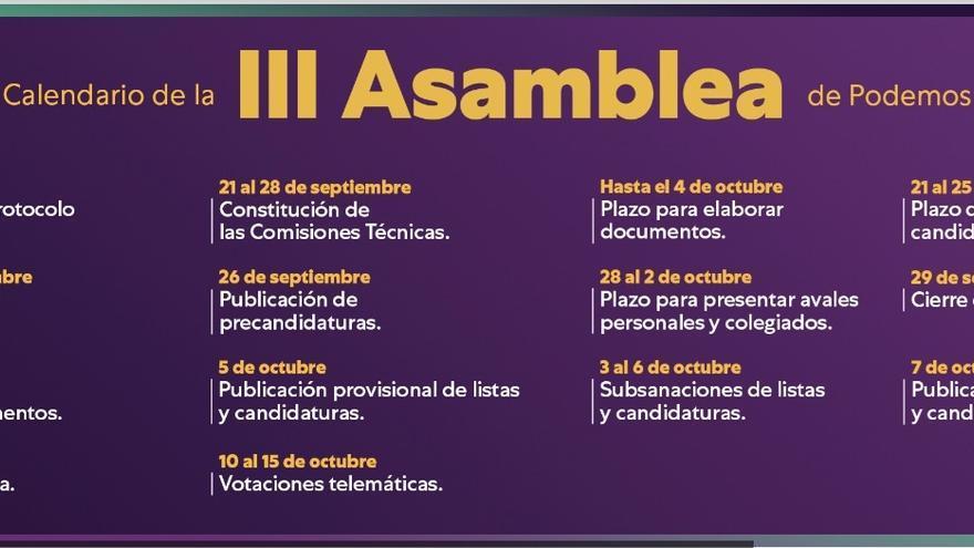 Las candidatas Laura Fuentes y Meri Pita logran los avales para concurrir con sus listas a las primarias de Podemos Canarias