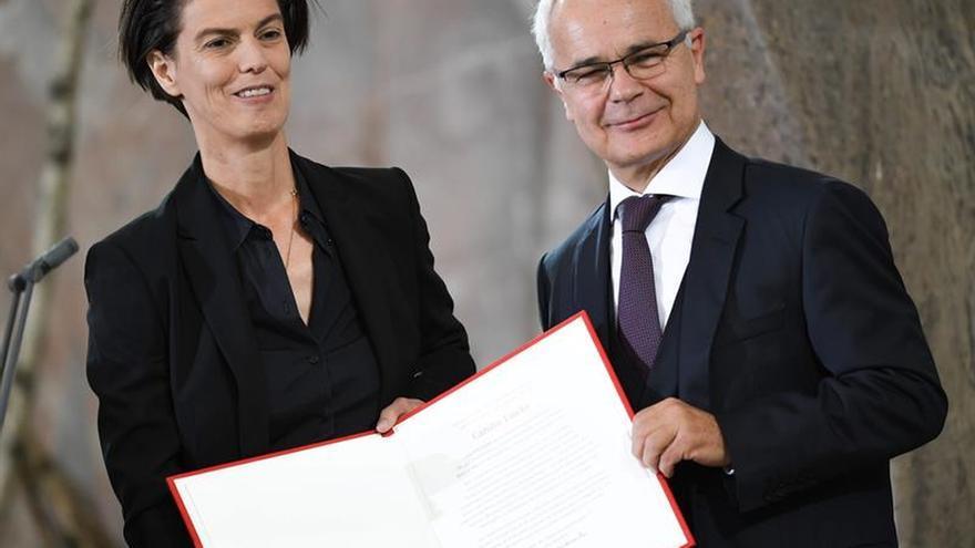 Emcke, Premio de la Paz de Libreros Alemanes, apela al coraje ante los fanatismos