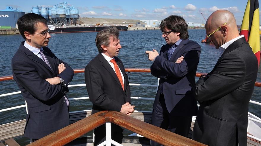 """Puigdemont intentó un encuentro con Juncker que Bruselas no contempló por razones de """"agenda"""""""