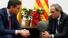 Sánchez se reunirá con Torra el próximo 6 de febrero en Barcelona