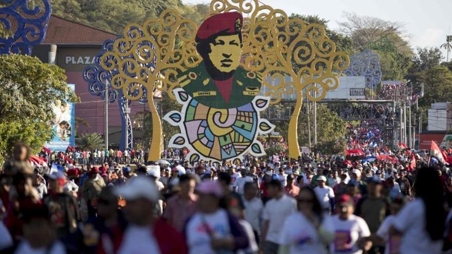 Caminata por el 86 aniversario del tránsito a la inmortalidad del general Augusto C. Sandino