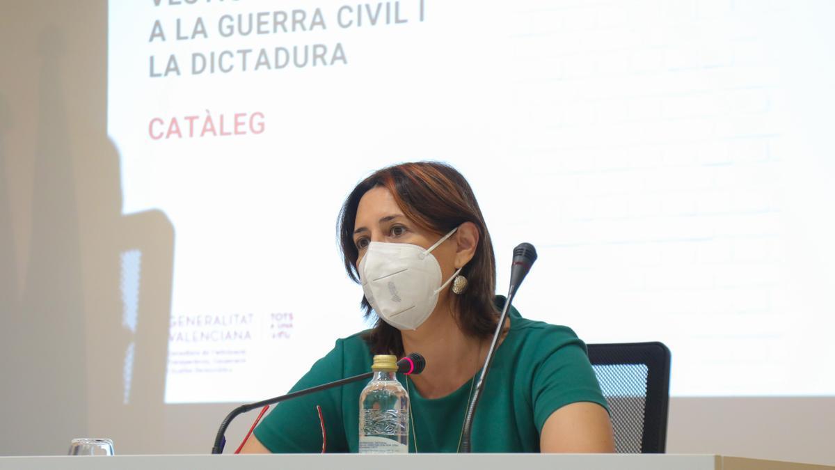 La consellera Rosa Pérez Garijo.