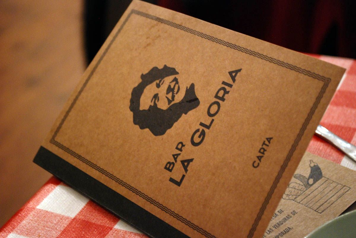 Menú La Gloria_Malasaña a mordiscos
