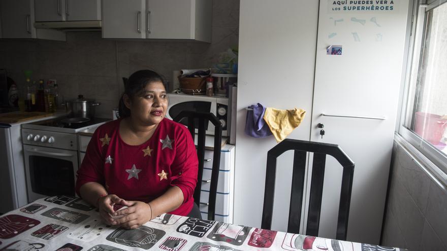 Gabriela García, trabajadora doméstica, llegó a España en 2004.
