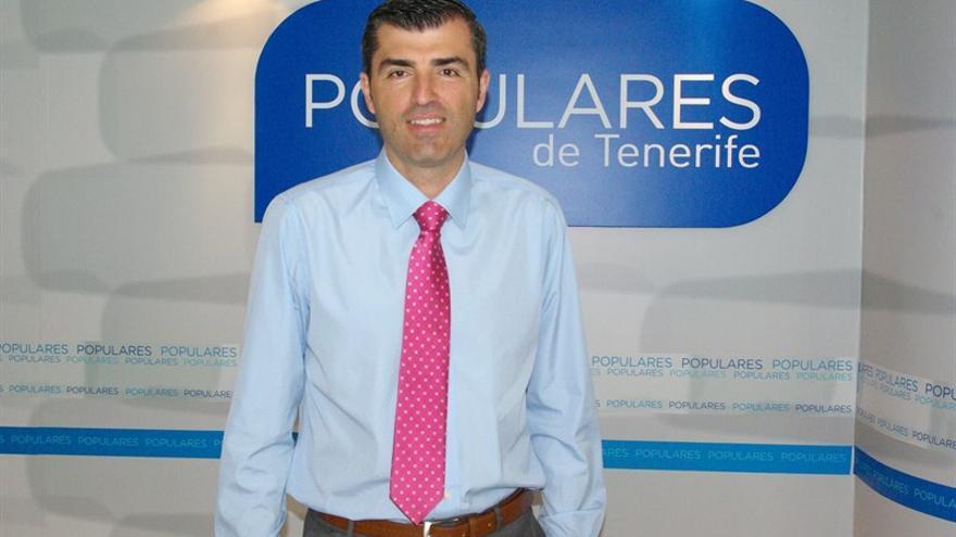 Manuel Domínguez, presidente del PP de Tenerife