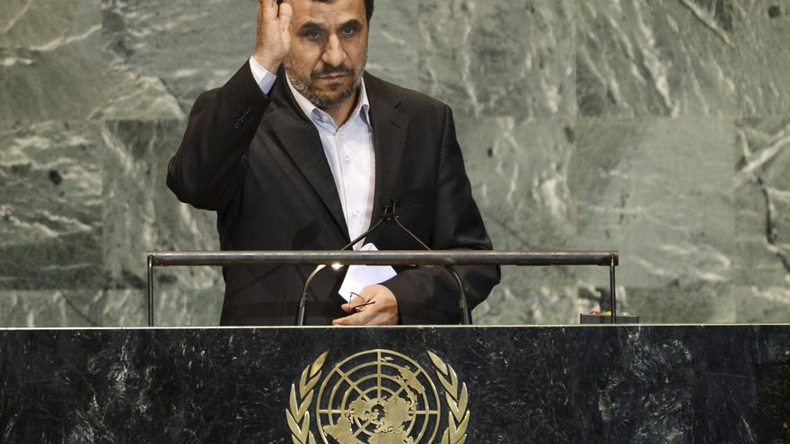 Ahmadineyad critica a la ONU por sancionar a su país y no a Israel