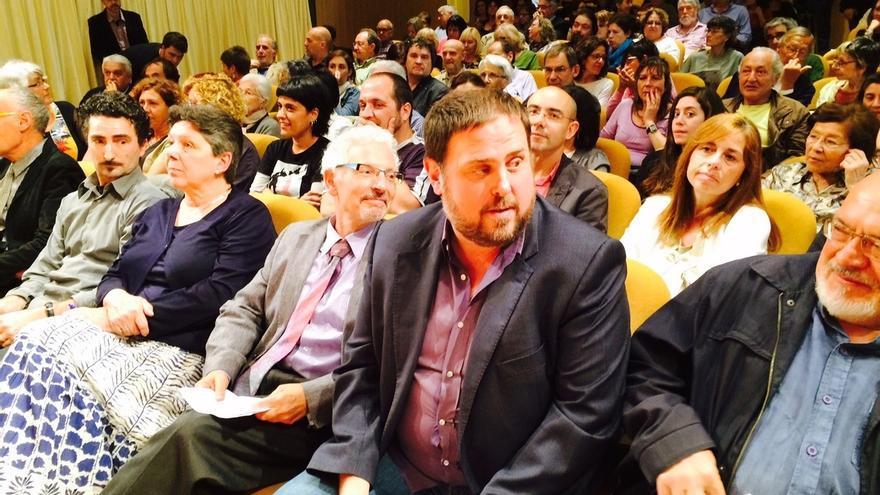 """Junqueras elogia al juez Santiago Vidal por defender """"valores universales"""" con una constitución catalana"""