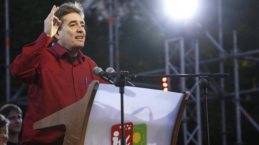 García Montero llama a la participación para alcanzar una mayoría progresista
