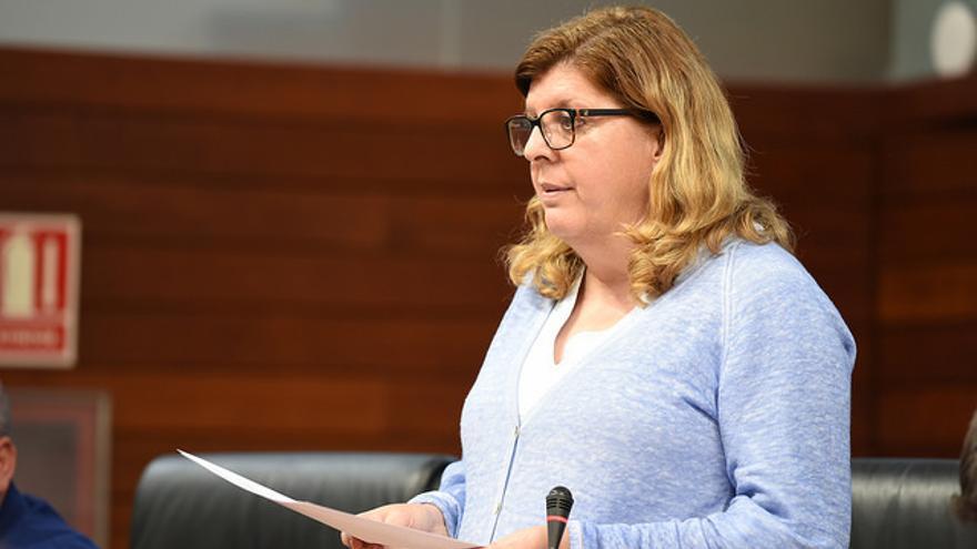 Victoria Domínguez, portavoz y única diputada de Cs en la Asamblea de Extremadura