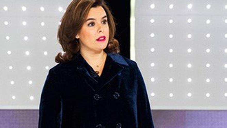 Soraya menta a Évole en el debate y éste le contesta con un 'zasca'
