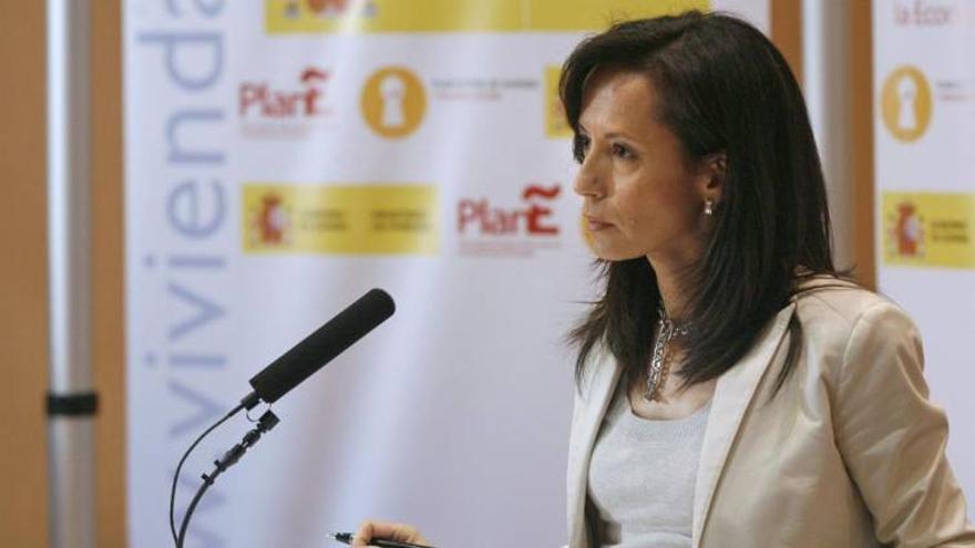 Beatriz Corredor, cuando era la ministra de Vivienda