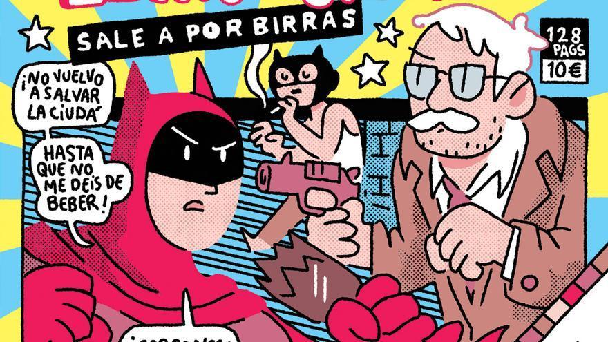 Portada de 'El Murciélago sale a por birras', de Álvaro Ortiz.