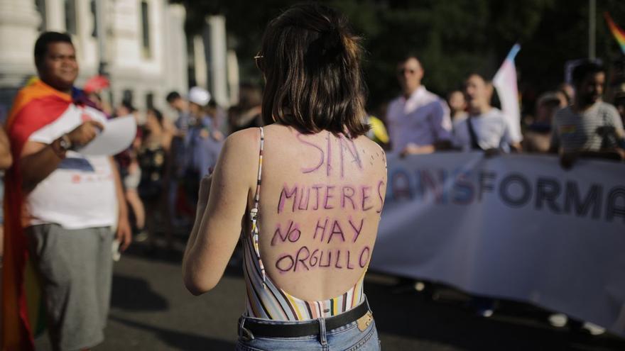 """""""Sin mujeres no hay Orgullo"""""""