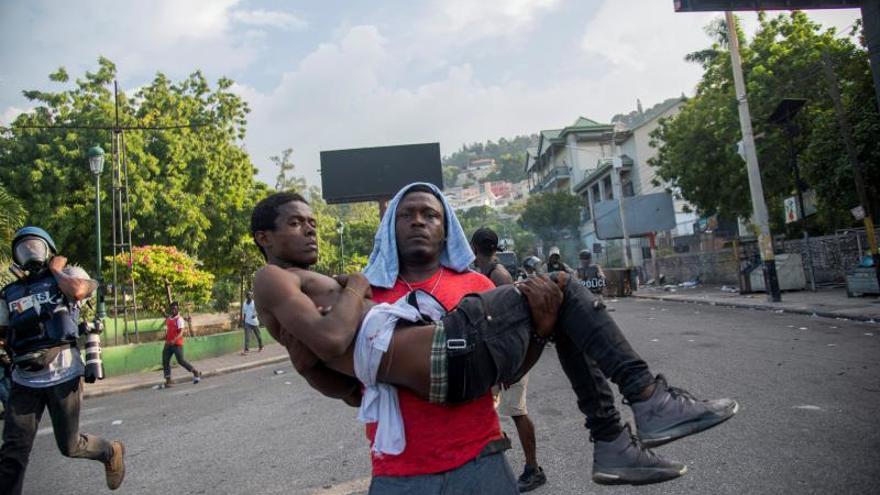 La oposición de Haití denuncia la muerte de cuatro personas durante protestas
