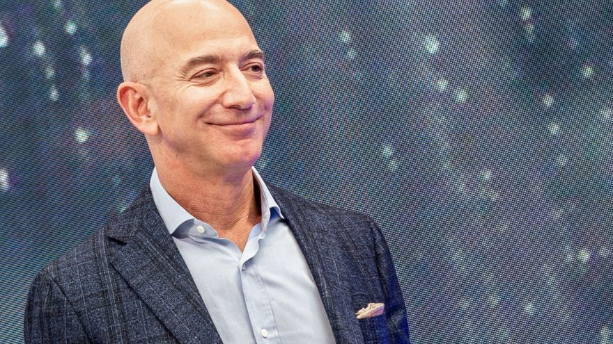 El fundador y director ejecutivo de Amazon, Jeff Bezos